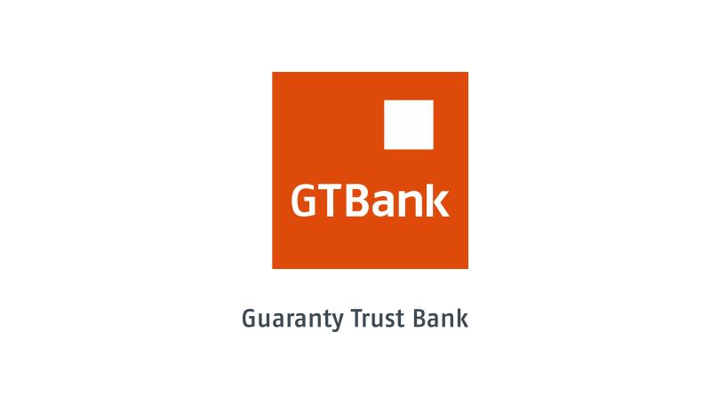 """Gtbank company logo """" Gtbank Customer Care"""""""