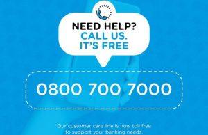 union bank toll free customer service line
